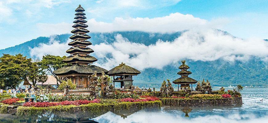 Ulun Danu Beratan Temple, Danau Beratan, Candikuning, Kabupaten de Tabanan, Bali, Indonésie